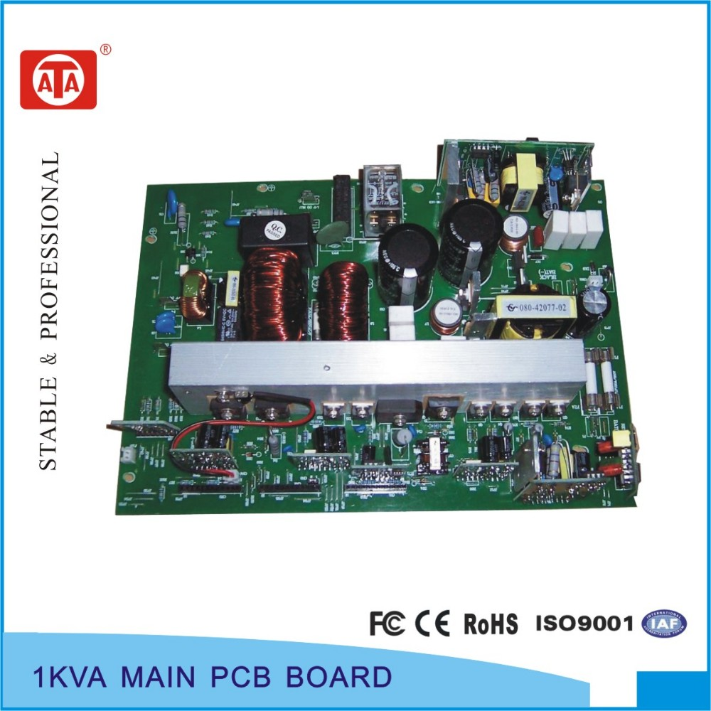 High frequency online 1KVA Santak technology UPS circuit board