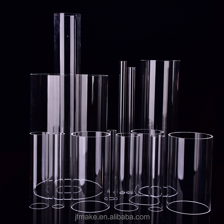 Factory Price Clear PC Pipe Transparent Polycarbonate Tube Plastic Pipe