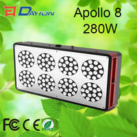Super Power 280W Apollo 8 LED Grow Lights With Full Spectrum with ROHS CE Approved