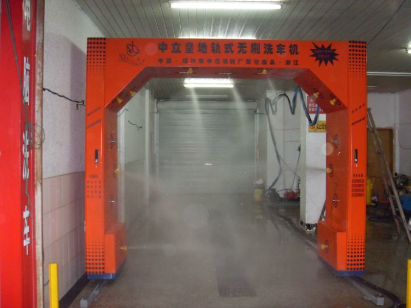 Track brushless car washing machine for cars and suv with CE and ISO9001