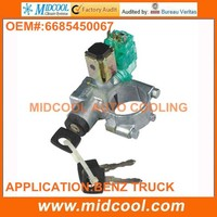 HIGH QUALITY IGNITION SWITCH ASSEMBLY for mercedes benz electric system heavy duty bus parts 6685450067