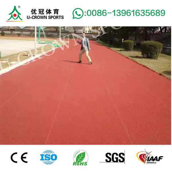 New design all weather synthetic rubber running track with great price