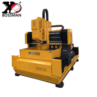cheap servo motor cnc mobile plate drilling rig milling machine