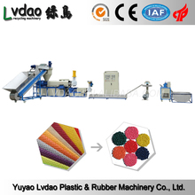 China suppliers PP PE waste plastic film recycling production line
