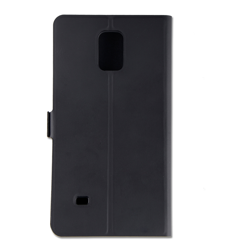 black flip leather case for samsung galaxy note 4
