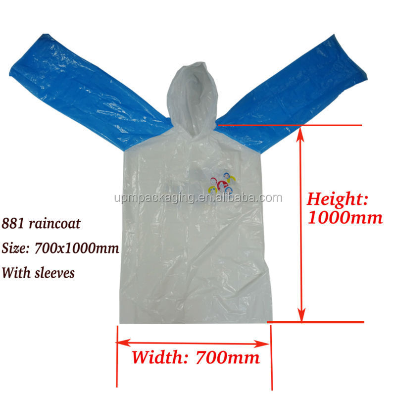 881raincoat with dimension