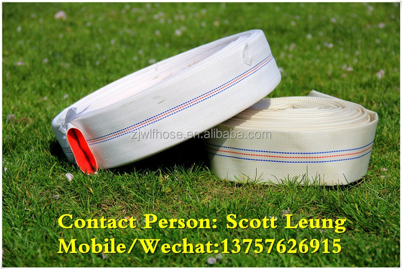 Colorful PVC layflat hose/PVC tube for delivery water/sunny hose