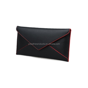 Hot selling PU lady envelope clutch bag and purse bag