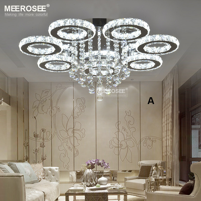 Modern LED Flower Lights Stainless Steel LED Ceiling Lamp MD82075