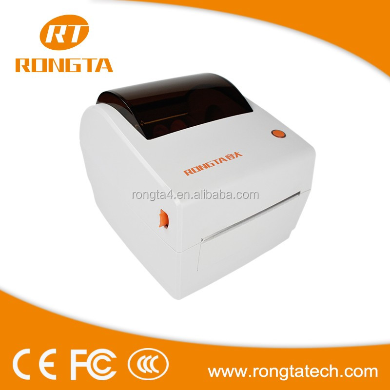 Wholesale 104mm desktop direct thermal barcode printer, label printer auto cutter printerRP410
