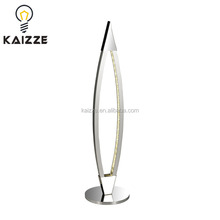 Zhongshan Modern Simple Stainless Steel LED Pendant Crystal Table Lamp Reading Desk Lamp