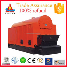 promotional horizontal low pressure water-fire tube single drum chain grate factory price coal-fired steam boiler for turbine