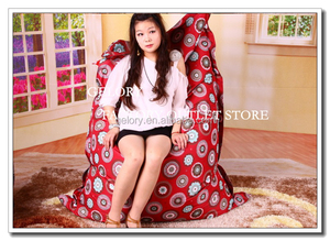 Custom printed Bean bag chair waterproof bean bag cover