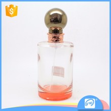 A2017-100ML UV gavanized cap 100ml famous brand empty perfume bottle on sale