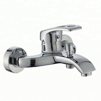 Good price Bathroom accessories faucets wall mounted hot and cold water mixer bath shower faucet