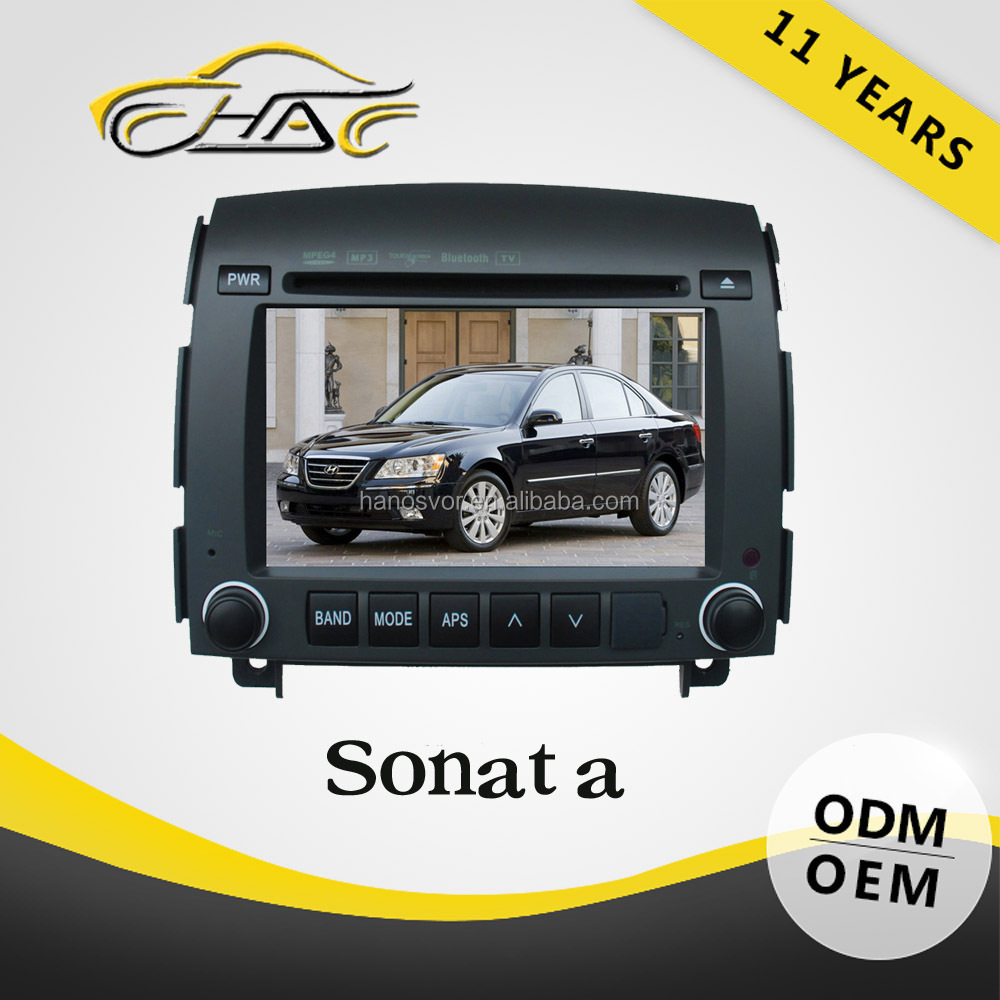 HANOSVOR Factory Directly Sale Double Din Car Navigatio System for Hyundai Sonata nf DVD Multimedia Player