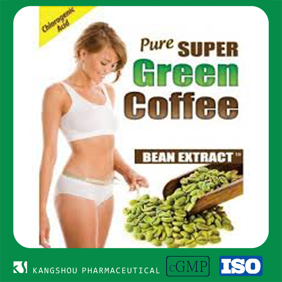Weight Loss Green Coffe Bean Extract 50%water soluble Chlorogenic Acid