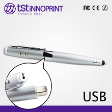 5 in 1 Laser pointer Touch USB Pen Flash drive with Flash Light