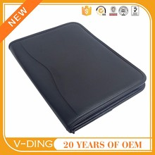 VDING latest Chinese-made leather manager folder calculators multifunction office supplies