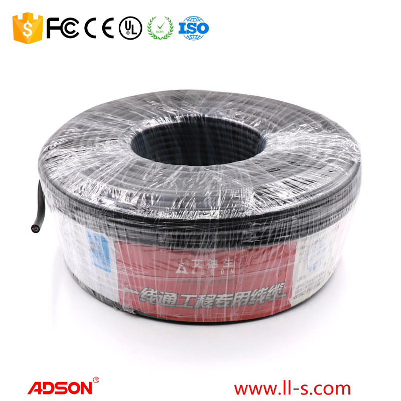 Hot sale 150m Adson Brand high definition Special VGA 3+4 cable for Engineering