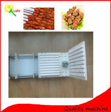 Food processing stainless steel automatic meat wear string machine