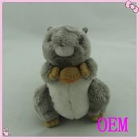 Custom Cute soft squirrel stuffed animal plush toy
