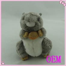 Custom Cute soft squirrel stuffed animal plush toy