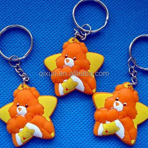 cheapest promotional free sample 2d custom shaped soft pvc keychain, 3d embossed logo pvc keychain paypal