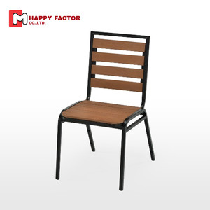 Faux Wood outdoor dining chair