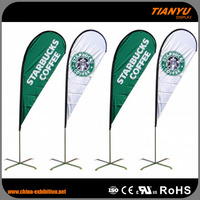 Quick Lead Custom-Made Promotion Solvent Printing Flag Material