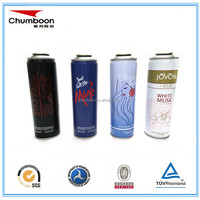Empty aerosol cans for contract filling aerosol products, butane gas, lubricants, SW-401, household spray products etc.