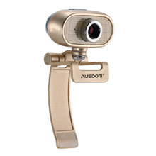 1080p usb 2.0 pc driver 360 degree rotation hd optical zoom video chat camera webcam with anti magnet ring and auto focus