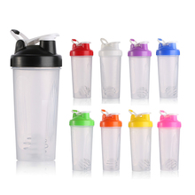 Factory Wholesale <strong>Sport</strong> Plastic Protein Shaker Bottle With Custom Printing Logo
