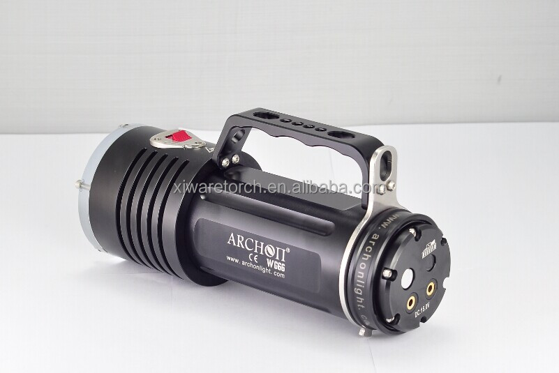 Archon NEW Diving Torch CREE XM-L L2*5 LED 5000 Lumens Diving Flashlight