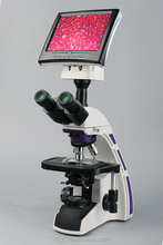 1600X LCD lab biological Microscope, 5w LED lamp