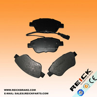 Semi-metallic Disc Brake Pad Set GDB1482 FOR peugeot