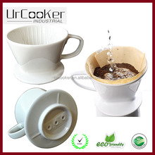 White Ceramic Coffee Dripper