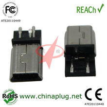 Factory Sales front 5 rent 2 pin usb connector female a type