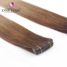 Seamless Double Drawn Ombre Remy Human Hair Tape Hair Extensions