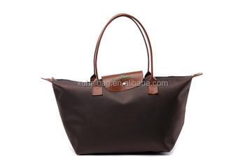 Factory direct wholesale good quality satin fashion cosmetic tote bag