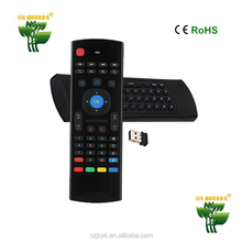 MX3 2.4GHz Remote Control Air Mouse Wireless Flying Double Keyboard controller pc