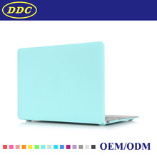 Colorful Laptop hard frosted clear PC case shell for Macbook 11.6'' inch