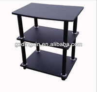 latest steel wooden tv stands and tv table picture (DX-BB2)