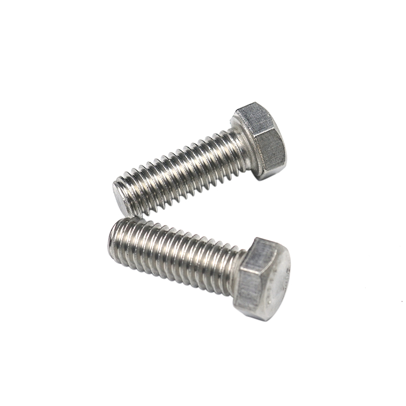 China Supplier High Quality 304 SUS  Hex Head Bolt Screw