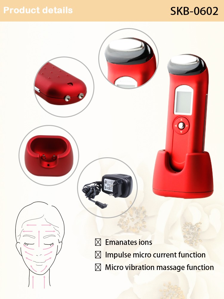 Siken3d CE certified home use ionic beauty device skin care facial machine