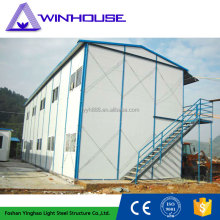 Fireproof Sandwich Panel Bungalow Prefab Modern Steel House