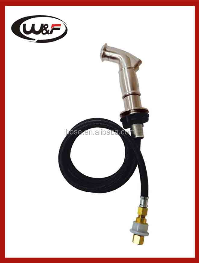 kitchen sink spray with nylon braide hose