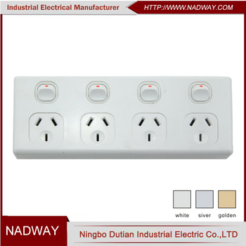 NADWAY Australia SAA 10A 250V 1or 2 way gang switchs