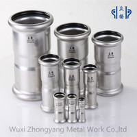 stainless steel compression equal coupling