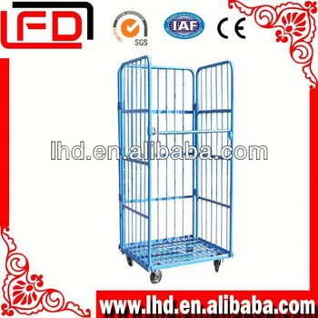 folding transport Roll Container Storage